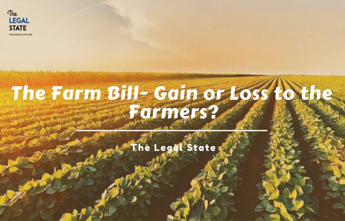 THE FARM BILL farmers act