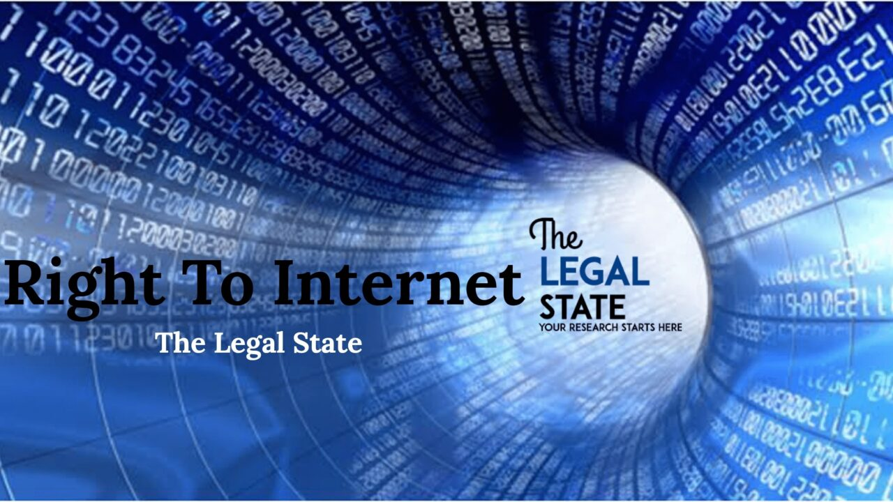 Right to the Internet