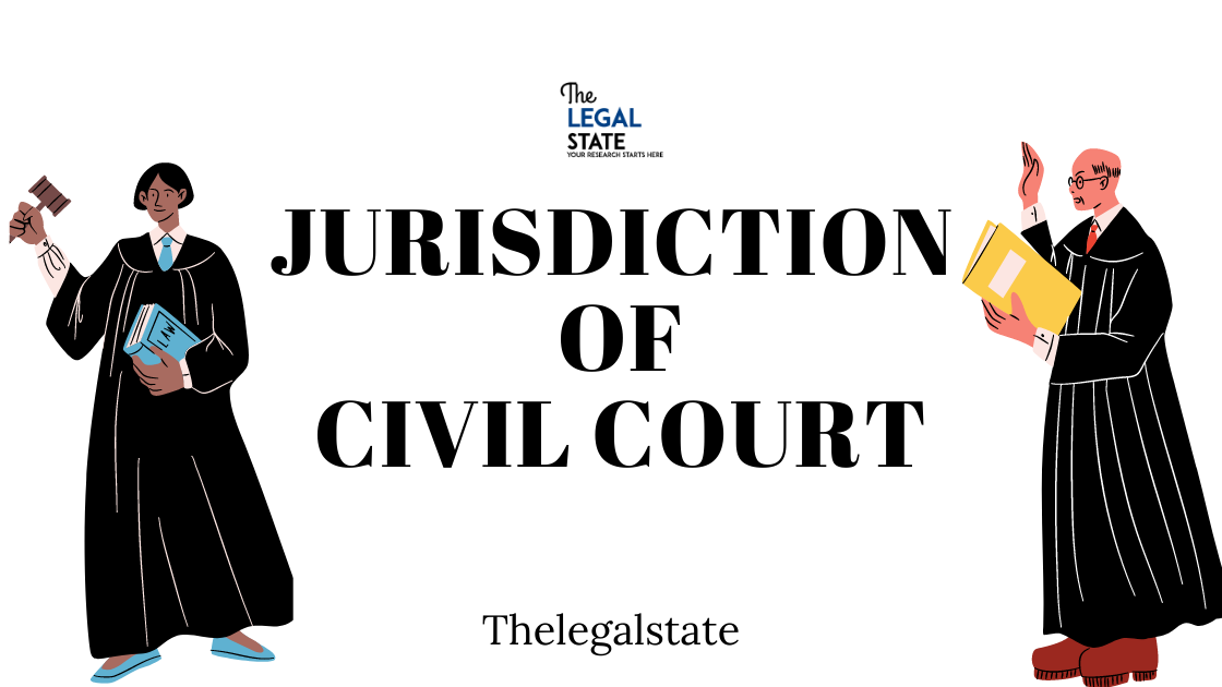 Jurisdiction of Civil Court