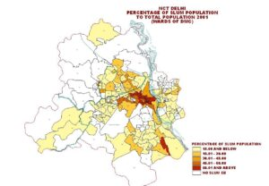 Slum Redevelopment, Judicial Intervention and government policy : A case study of Delhi