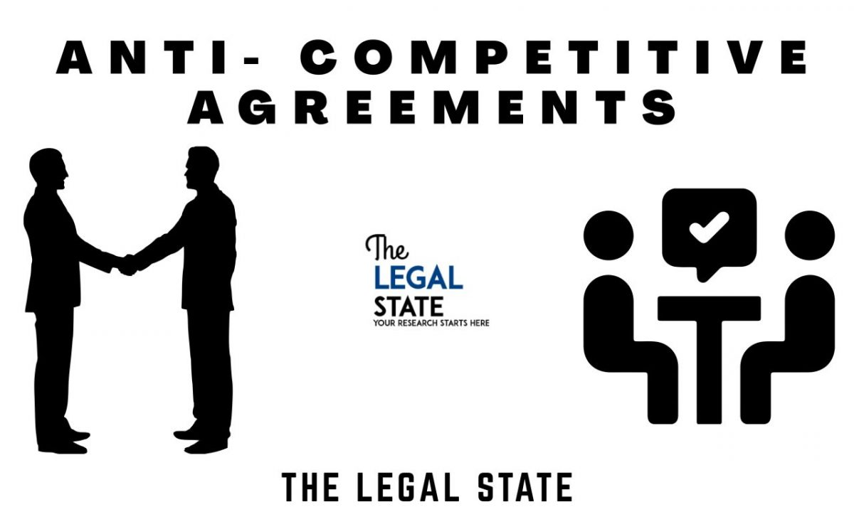 Topic: Anti-Competitive Agreements