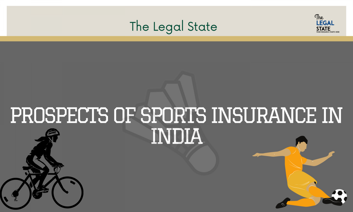 Prospects of Sports Insurance in India